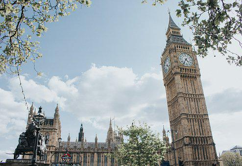 London, Bigben, England, Architecture, City, Building