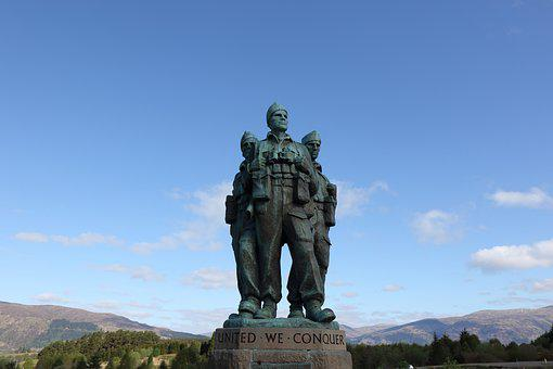Commando Memorial, Glencoe, Scotland, Lochaber, Glen