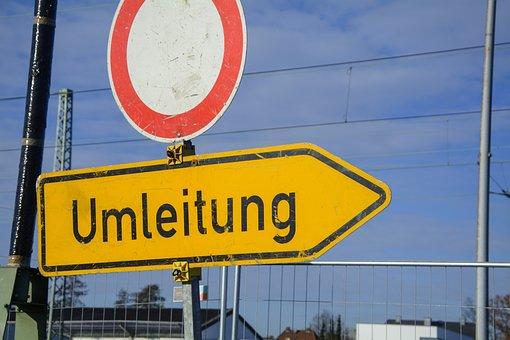 Redirect, Site, Barrier, Demarcation, Warning