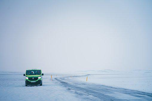 Travel, Photography, Winter, Cold, Van, Explore, Snow