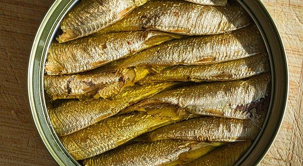 Sprats, Fish Preserve, Food, Fish, Healthy