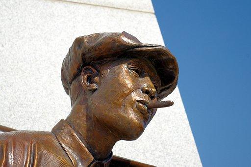 Hostility Statue, Sculpture, Hostility, Tulsa