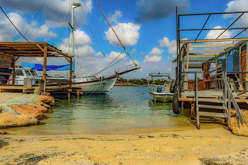 Fishing Boats, Hut, Fishing Shelter, Picturesque