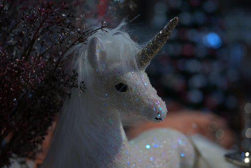 Unicorn, Horn, Fable, Horse, Magic, Lucky Charm, Cute