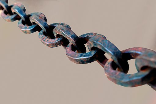 Chain, Steel, Metal, Connection, Together, Connected