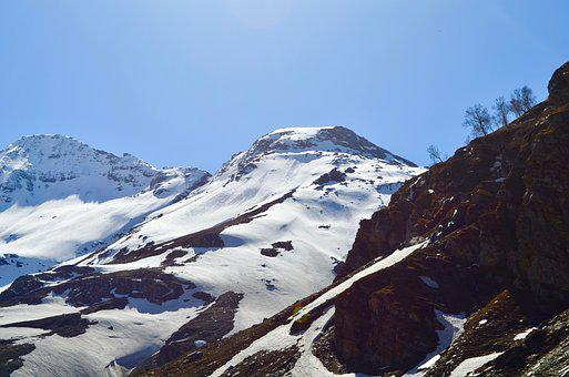 Snow, Mountain, Landscape, Winter, Nature