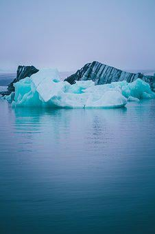 Nature, Photography, Iceland, Ice, Iceberg, River