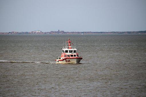 Water, Lake, Sar, North Sea, Water Rescue, Rescue