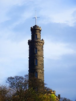 Time Ball, Tower, Calton Hill, Edinburgh, Scotland