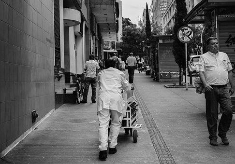 Street, People, City, Urban, Person, Walk, Man, Adult