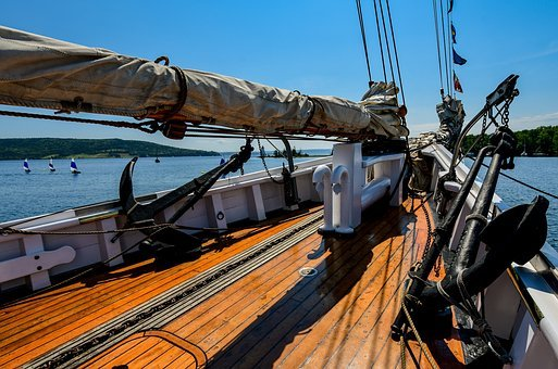 Boat, Sea, Sailboat, Yacht, Nautical, Yachting, Blue