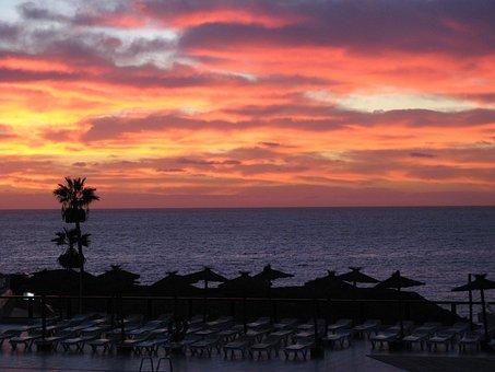 After Sunset, Abendstimmung, Sea