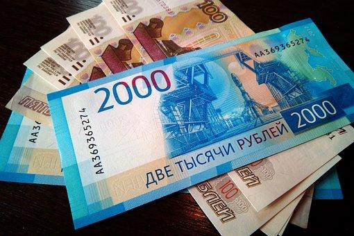 Money, Bills, Finances, Currency, Ruble, Bill, Bank