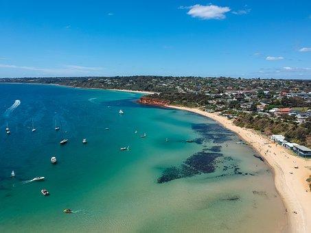Ocean, Sea, Water, Beach, Sand, Blue, Vacation, Summer