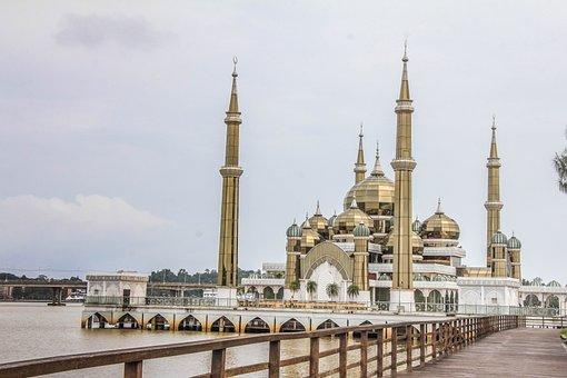 Masjid Kristal, Mosque, Beautiful