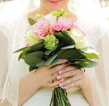 Beautiful, Beauty, Blossom, Bouquet, Bridal, Bride
