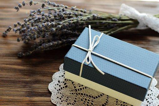 Birthday, Blue, Bow, Box, Brown, Celebration, Christmas