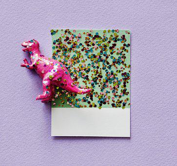 Abstract, Animal, Background, Card, Colorful, Confetti