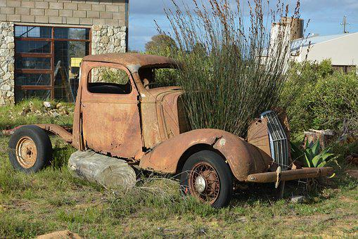 Old, Oldtimer, Vintage, Rusty, Classic, Rusted, Car