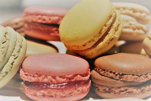 Macarons, Pastries, Colorful, Pastel, Sweet, Meringue