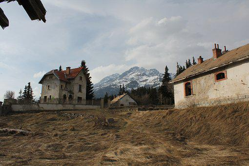 Fort, Modane, Fall, War, Buildings, Military, History