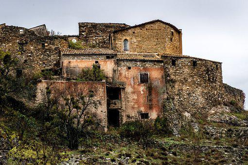 Provence, France, French Village, Timeworn, Medieval
