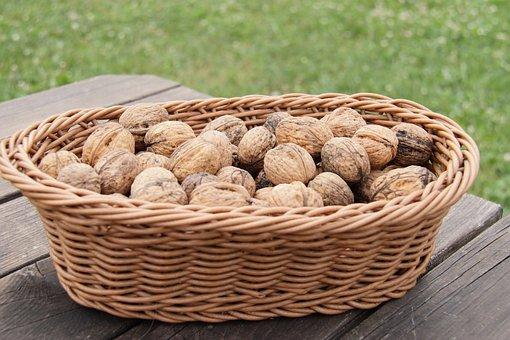 Walnut, Food, Nut, Walnuts, Brown, Nuts, Healthy, Fruit