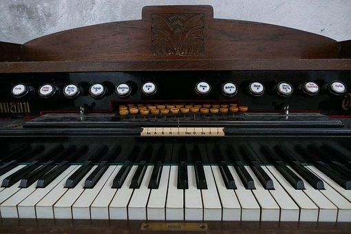 Liebmann, Organ, Harmonium, Dusty, Antique, Old