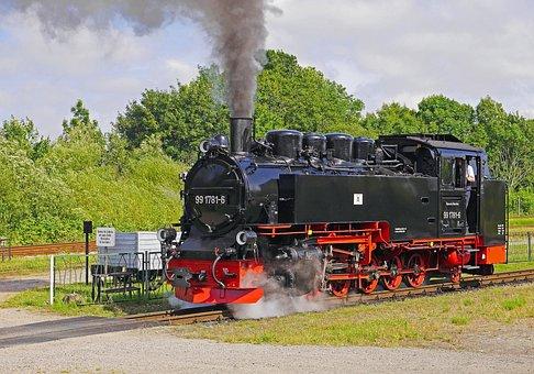 Steam Locomotive, Narrow Gauge, Nostalgia, Historically
