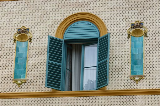Window, Color, Architecture, Pecs, Hungary, Zsolnay