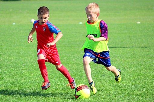 Football, Children, Prep, Match, Action, Play, Boys