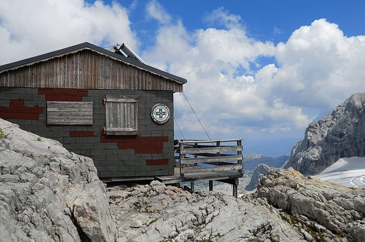 Mountain Hut, Rescue, Help, Dachstein, Austria, Alpine