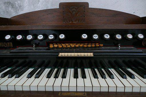 Liebmann, Organ, Harmonium, Dusty, Antique, Old