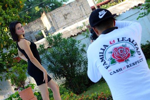 Photographer, Session, Model, Photography, Photo, Pose
