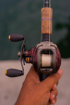 Fishing, Roulette, Fisherman, Equipments, Reel, Line