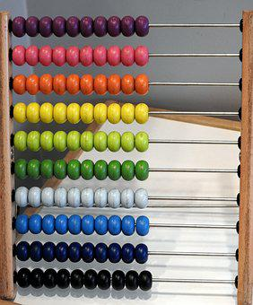 Abacus, School, Mathematics, Education, Colorful Abacus