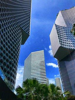Singapore, Building, Architecture, Tower, Skyscraper