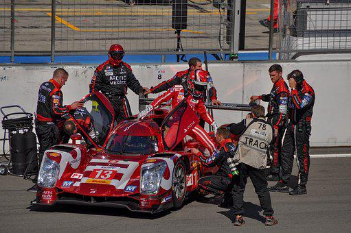 Starting Lineup, Race, Motorsport, Racing Car, Wec