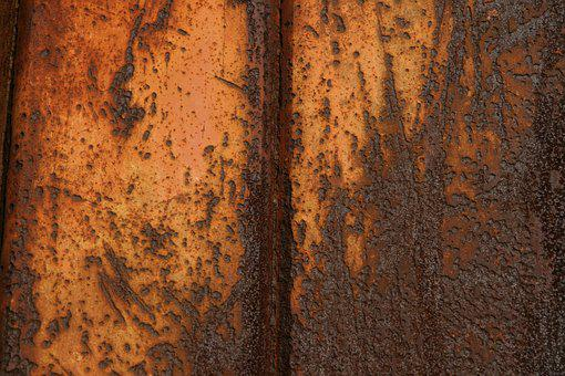 Rust, Metal, Structure, Rusted