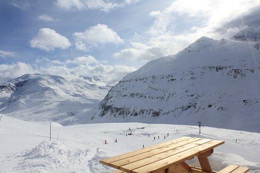 Ski, Val Cenis, Winter, Snow, Brouilard