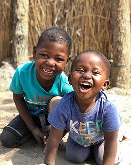 Africa, Children, Young, Happiness, Preschool, School