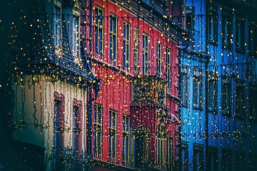 Lichterkette, Christmas Decorations, Lighting, Lights