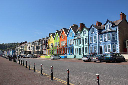 Whitehead, Northern Ireland, Colors, Houses, Colorful