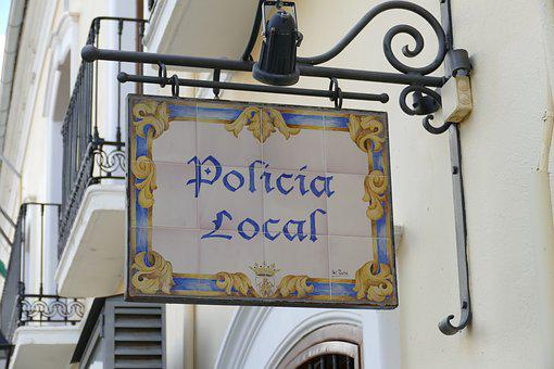 Shield, Advertisement, Police, Local, Tile, Decoration