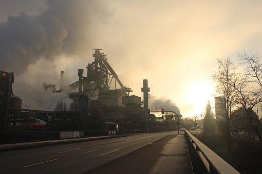 Industry, Eisenwerk, Blast Furnace, Dillinger Hütte