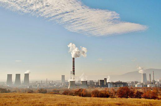 Chemist, Chemical, Factory, Industry, Pollution, Smoke