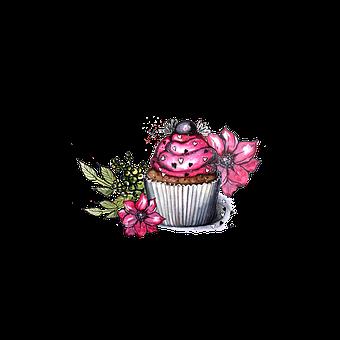 Cupcake, Figure, Delicious, Bakery, Baking, Cream