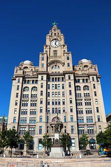 Liver Building, Liverpool, Building, England, Mersyside
