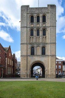 Bury St Edmunds, Medieval, Tower, Architecture, Castle