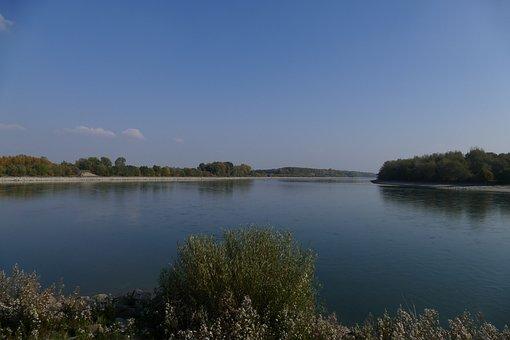 Danube, River, Water, Nature, Slovakia, The Sky